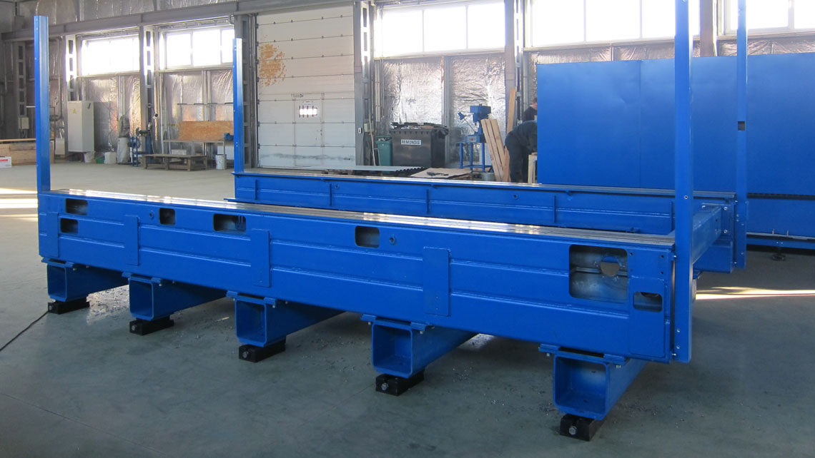 AMV Design Ruch servomotor LaserCut 3015 Old machine basement 2