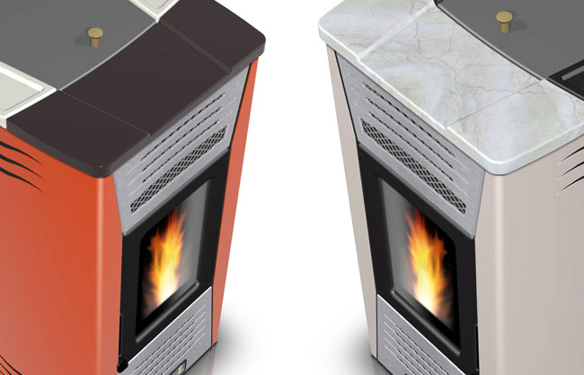 PELLET BURNING/THERMO-STOVES