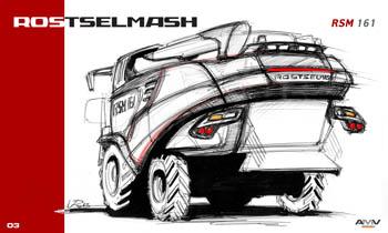 AMV Rostselmash RSM 161